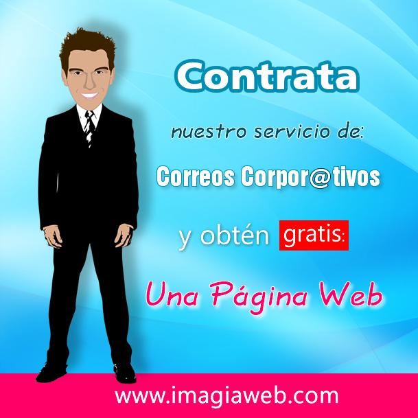 Oferta Correos Corporativos + Página de Inicio Gratis